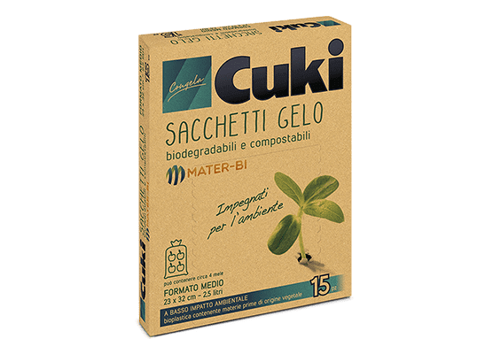 "<span style=""font-size:24px;"">SACCHETTI GELO IN</span><br /> MATER-BI"