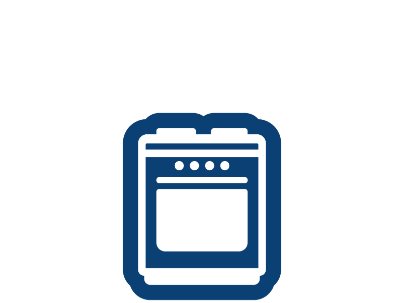 Contenitori carta forno - Forno tradizionale e microonde insieme ...